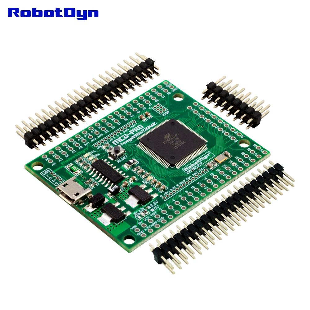 NEW MCU PRO Mega 2560 CH340C/ATmega2560 16AU, extra pin +16