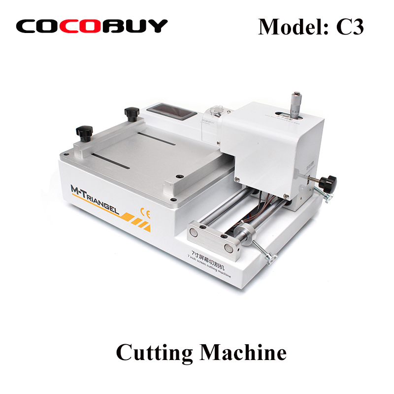 Separate Machine For Iphone Xiaomi Redmi Huawei Samsung Mobile Phone LCD Cutting Machine Phone Screen Repair M Triangel C3 in Power Tool Sets from Tools