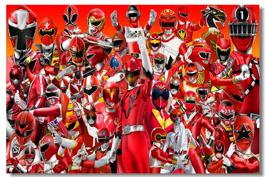 Custom Canvas Wall Murals Power Rangers Poster Power Rangers Wall Sticker  Mural Samurai Wallpaper Kids Room Decorations #0091# In Wall Stickers From  Home ... Part 28