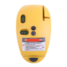 Multipurpose Laser measure 90 degree infrared laser mouse level (yellow)