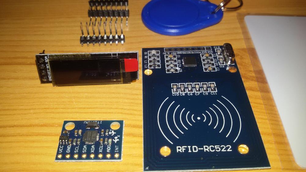 MFRC-522 RC-522 RC522 Antenna RFID IC Wireless Module SPI Writer Reader IC  Card Sensor Kits For Arduino Proximity Key Chain