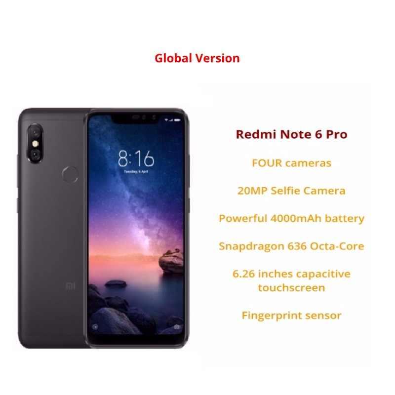 Xiaomi Redmi Note 6 Pro 64 ГБ ОЗУ 4 ГБ ПЗУ (новый и запечатанный)
