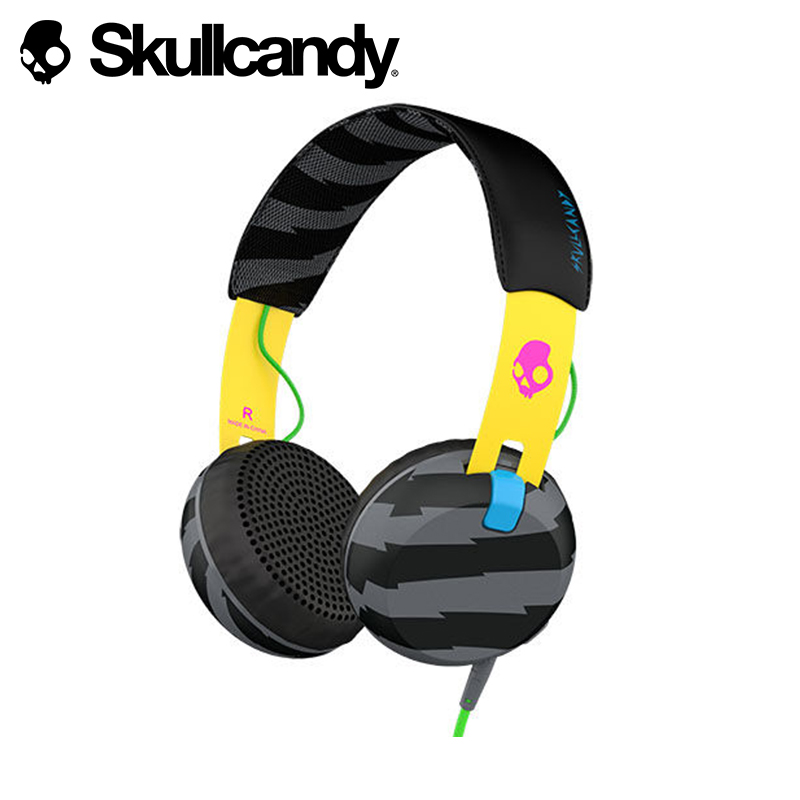 Headphones Skullcandy Grind on-ear skull candy scull pinetti beauty case