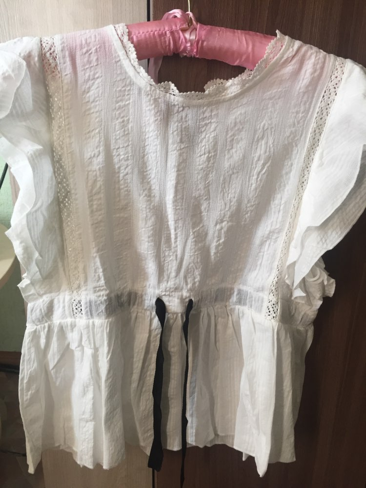 GCAROL 2018 Summer Women Hollow Out Crochet Lace Blouse Butterfly Sleeve Shirt White Cute Sweet Cropped Tops For Girls