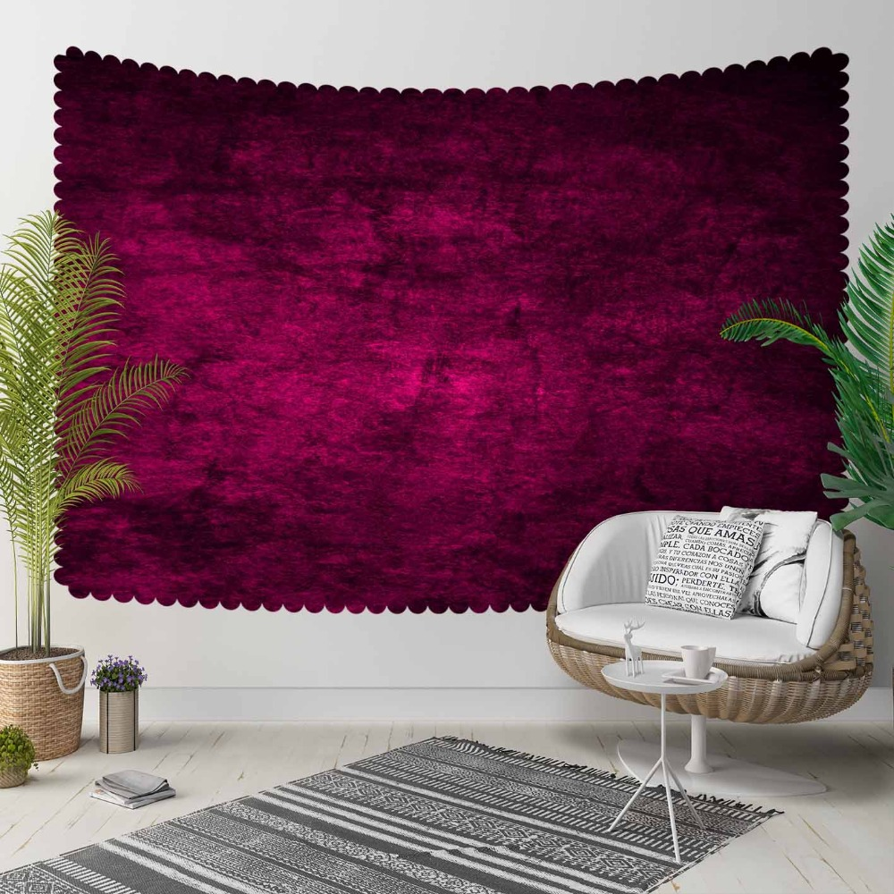 Else Damson Vintage Abstract Watercolor Aging Shine 3D Print Decorative Hippi Bohemian Wall Hanging Landscape Tapestry Wall Art