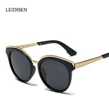 High Quality Cat Eye Sunglasses Women Brand Designer Polarized Ladies Sun glasses New Fashion femme Gafas Oculos HD Lens UV400