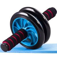 JAYSON Çift Tekerlekli Ab Karın tekerlek Spor Hiçbir Gürültü coaster Karın Ev Fitness Ekipmanları Koşu Bandı Gym Egzersiz Funcional