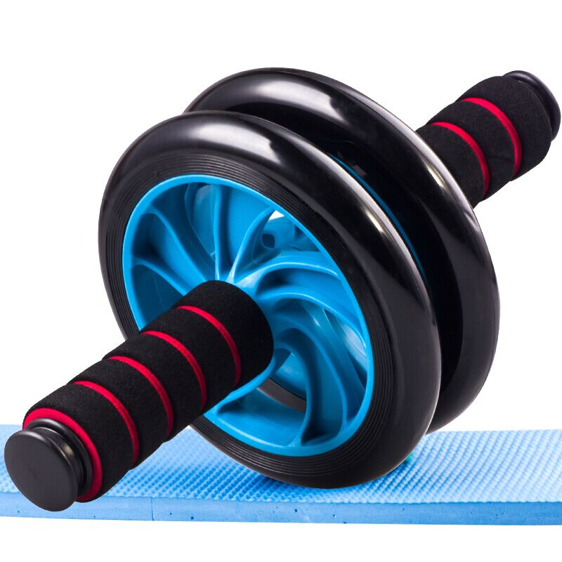 JAYSON Double-Wheel Ab Abdominal wheel Sports No Noise coaster Abdominal Home Fitness Equipment Treadmill Gym Exercise Funcional цена