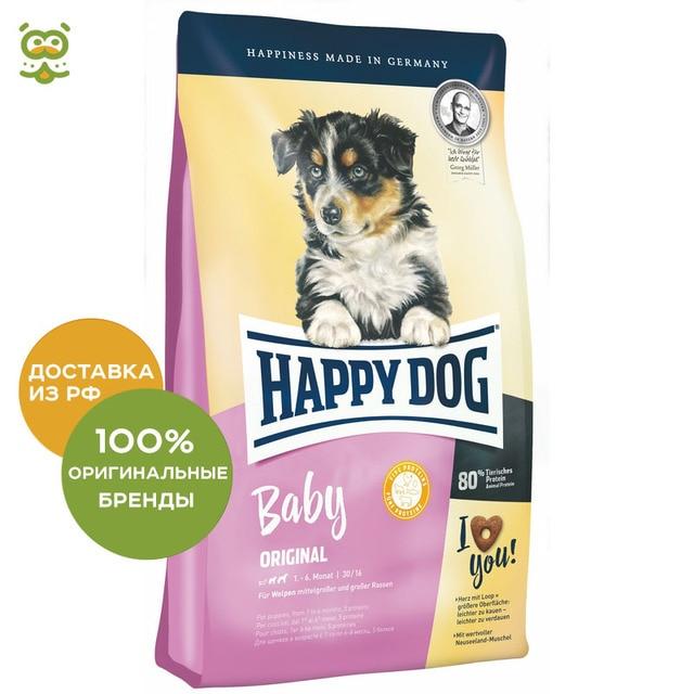 Happy Dog Supreme Baby Original корм для щенков всех пород, Птица, 4 кг.
