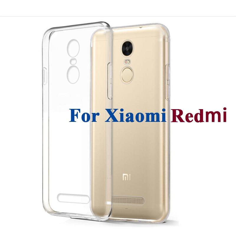 Clear Soft TPU Gel Case For Xiaomi Redmi 1 2 3 4a 4 3x 4x pro prime note 2 3 4 4x 32GB 64GB Ultra Thin Protector Cover Skin case