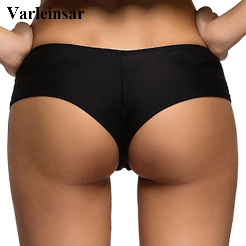 large discount low priced reasonable price Bather swim brief V shape sexy female swimwear women brazilian bikini  bottom scrunch butt thong tanga panty underwear V130B