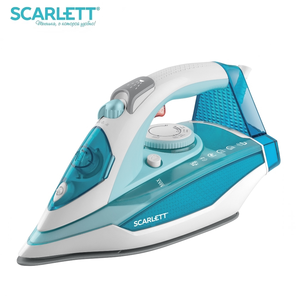 Iron Scarlett SC-SI30K33 Iron for ironing Mini iron steam iron Steam generator for clothing Irons Electric steamgenerator Small lson 30w welding nozzle for electric soldering iron silver 4 pcs