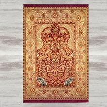 Anders Bruin Rood Vintage Etnische 3d Print Turkse Islamitische Moslim Gebed Tapijten Tasseled Anti Slip Moderne Gebed Mat Ramadan Eid geschenken