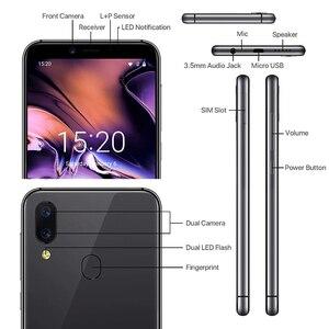 Image 3 - UMIDIGI A3 Smartphone Global double 4G Sim 5.5 pouces 18:9 plein écran téléphone Mobile Android 8.1 2 + 16G visage empreinte digitale téléphones portables