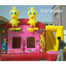Commercial inflatable bounce houses pvc inflatable bouncing castle slide