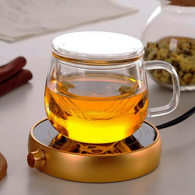 Classic Glass Tea Cup with Filter