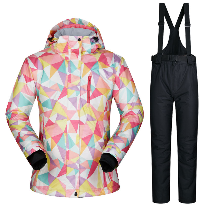 Womens Ski Suits Snow Skiing And Snowboarding Clothes Waterproof Warm Winter Cross Country Snow Snowboard Jacket Women BrandsWomens Ski Suits Snow Skiing And Snowboarding Clothes Waterproof Warm Winter Cross Country Snow Snowboard Jacket Women Brands