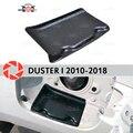 1000007521719 - Cubierta en la escotilla de apertura combustible para protector antipolvo para Renault 2010-2018 accesorios de ajuste protección decoración del coche decoración cuello de relleno