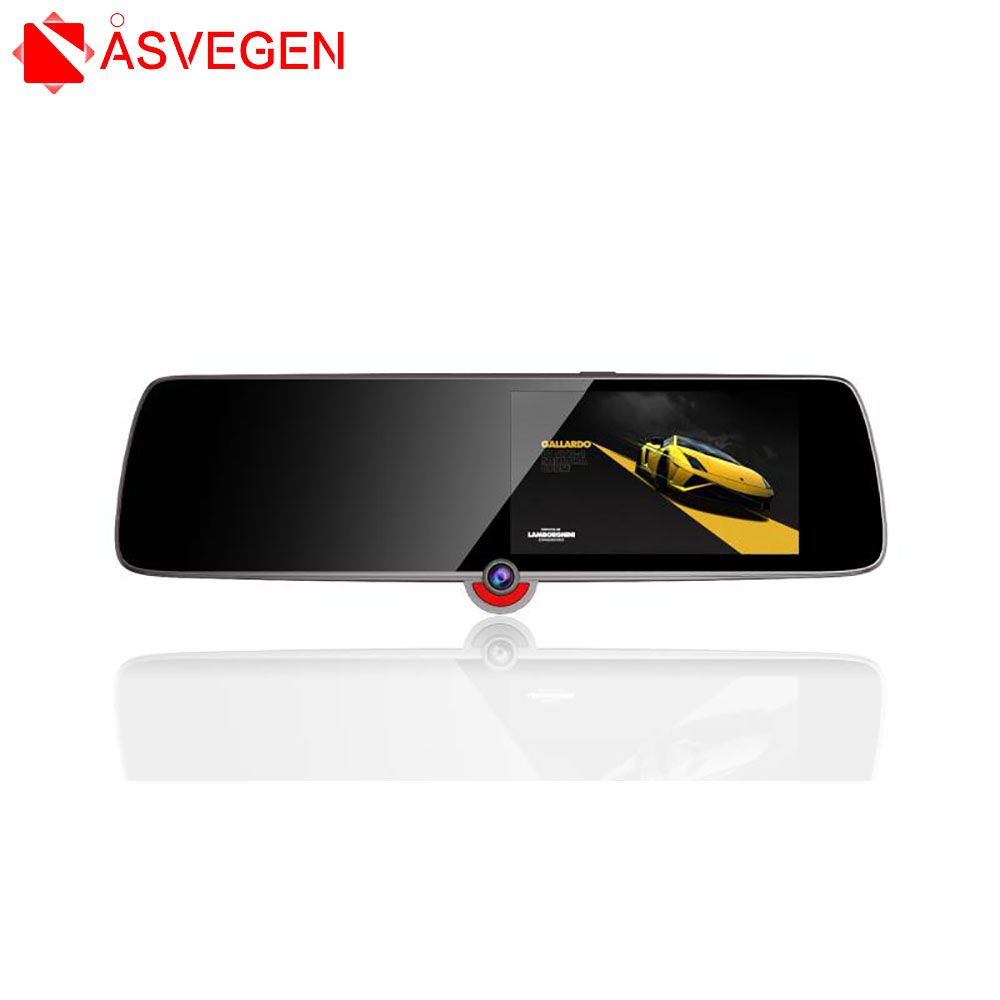 4.3 pouces voiture DVR caméra Dash Cam FHD 1080 P 3 caméra voiture Auto DVR miroir enregistreur voiture rétroviseur g-sensor DVR