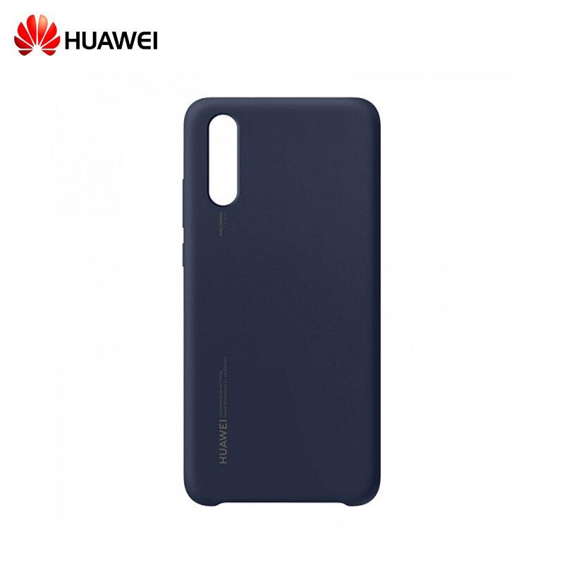 HUAWEI P20 Pro Silicon Case blue клип кейс huawei silicon case для p20 pro синий