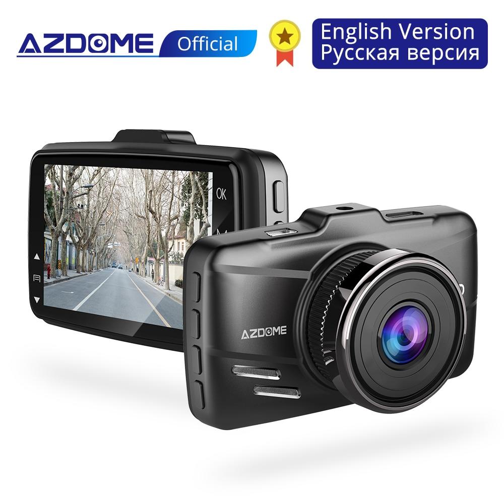AZDOME M01 Dash cam 3 Inch 2 5D Screen 1080P HD Car DVR Recorder Driver Fatigue