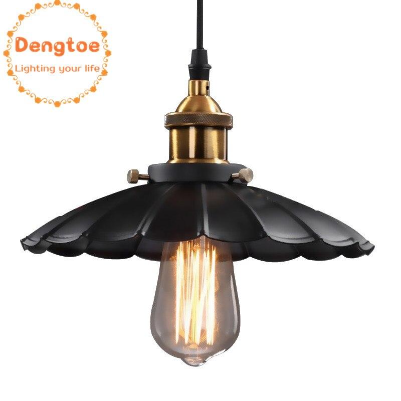 Vintage Pendant Lights Vintage Pendant Lamp for Dining Room Antique Black Lighting Fixtures Kitchen Island Office Lamp