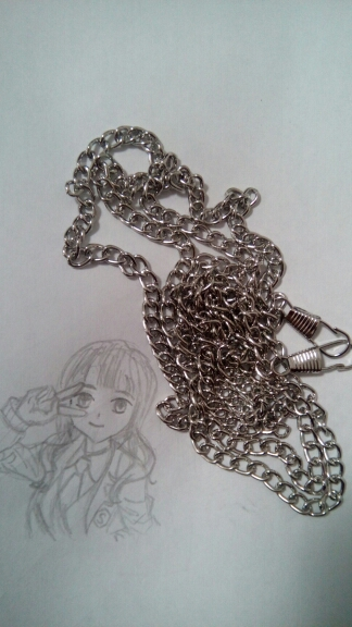Metal Purse 40 cm Chain Strap Handle Shoulder DIY Cross Body Bag Handbag Replacement photo review