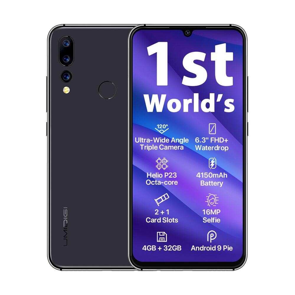 "UMIDIGI A5 Pro Android 9 0 Octa core 6 3 Mobile Phone 16MP Triple Camera 4150mAh UMIDIGI A5 Pro Android 9.0 Octa-core 6.3"" Mobile Phone 16MP Triple Camera 4150mAh 4+32GB Global LTE 4G Fingerprint Smartphone"