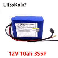 HK LiitoKala 100% New Protection Large capacity 12 V 10Ah 18650 lithium Rechargeable battery pack 12v 10000 mAh capacity|12v 10ah|10ah 12v battery|12v li ion battery -