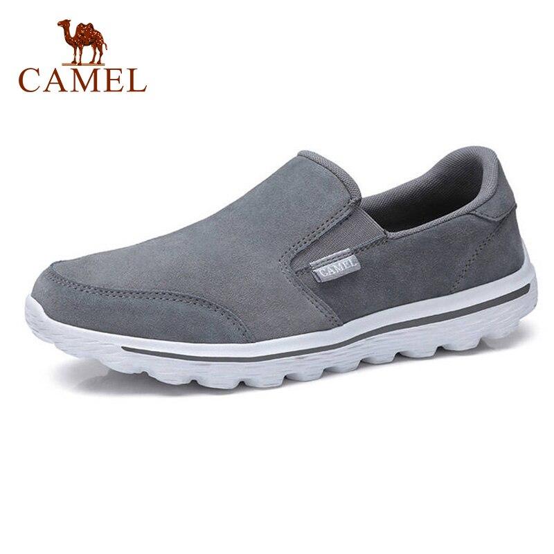 CAMEL nouveau hommes chaussures décontractées en cuir léger ensembles de pieds hommes amorti semelle confortable mocassins appartements