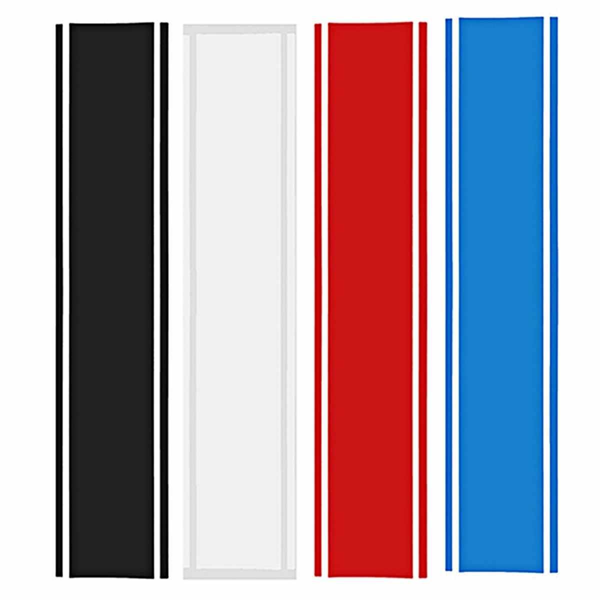1x Xe Decal Vinyl Đồ Họa stickers Hood Kép Racing Stripe đối Mustang 938