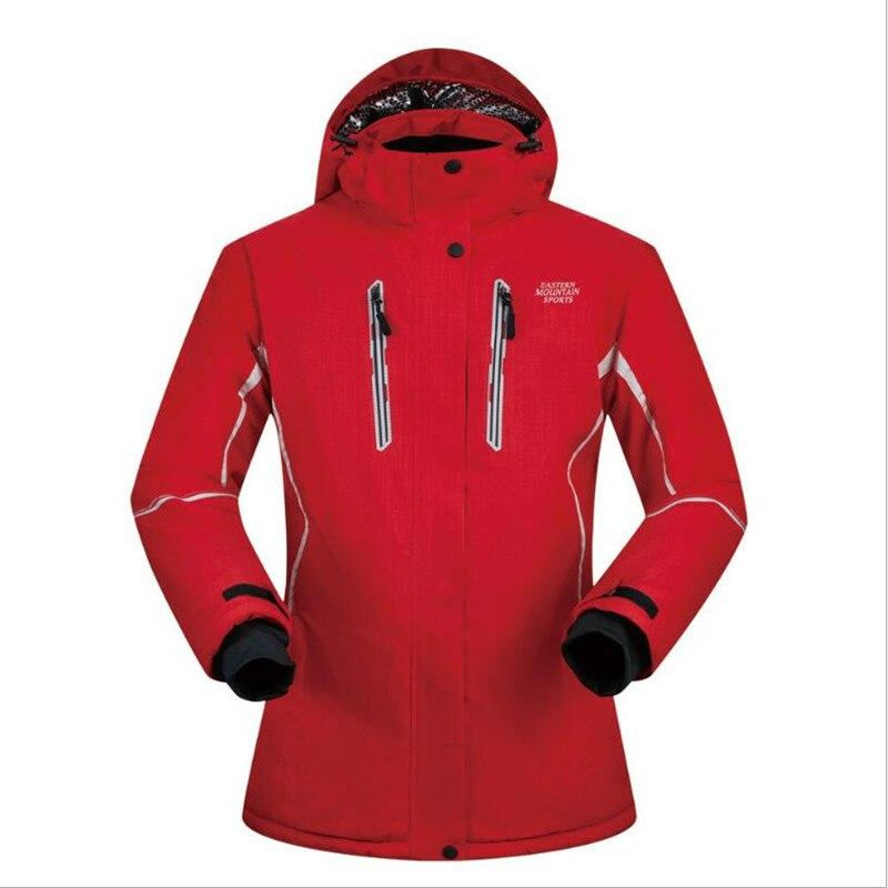 MUTUSNOW Women Ski Jacket Snowboard Jacket Windproof Waterproof Outdoor Sport Wear Skiing Super Warm Coat Thicken Thermal Jacket стоимость