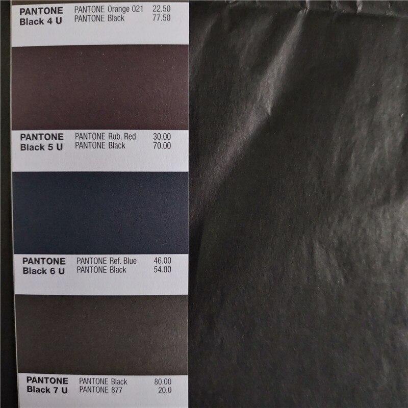 250 arkuszy czarny kolor cienkie do pakowania prezentów tkanki papier jedwabny 50x70 cm darmowa wysyłka w Papier do rękodzieła od Dom i ogród na  Grupa 3