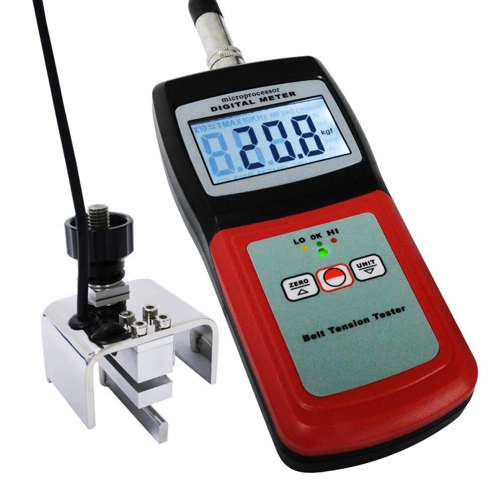 Entretien de réglage de remplacement de fil de câble de jauge de mètre de Tension de ceinture numérique, 0 ~ 77 kg/0 ~ 120lb/0 ~ 750 Newtons/0 ~ 144 semble