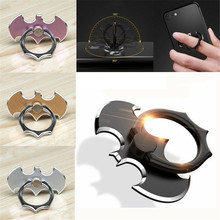 Yousigood Bat 360 Degree Rotate Holder Finger Ring Mobile Phone Stand For iPhone 7 /Samsung/Xiaomi All Smart