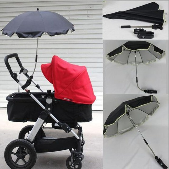 Baby Infant Stroller Umbrella Pushchair Pram Sunshade Canopy Anti UV Parasol Adjustable Umbrella Stand Rain Cover & Baby Infant Stroller Umbrella Pushchair Pram Sunshade Canopy Anti ...
