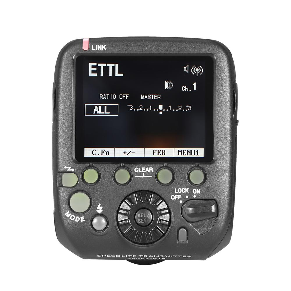 Shanny SN-E3-RTs Transmitter Flash Trigger for Canon 600EX-RT Yongnuo YN600EX-RT SN600C-RT Flash Speedlite As ST-E3-RT YN-E3-RT yongnuo yn e3 rt ttl radio trigger speedlite transmitter as st e3 rt for canon 600ex rt yongnuo yn600ex rt