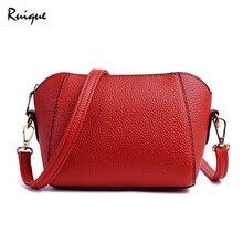 """""""Ruique"""" moterų mados """"Shell"""" formos pečių maišų biuro moterys """"European American Style Crossbody Bag Messenger"""" krepšelio krepšelio raktų paketas"""