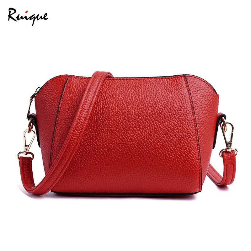 Ruique femmes mode coquille forme sac à bandoulière bureau dames Style européen américain sac à bandoulière Messenger sac carte clé paquet