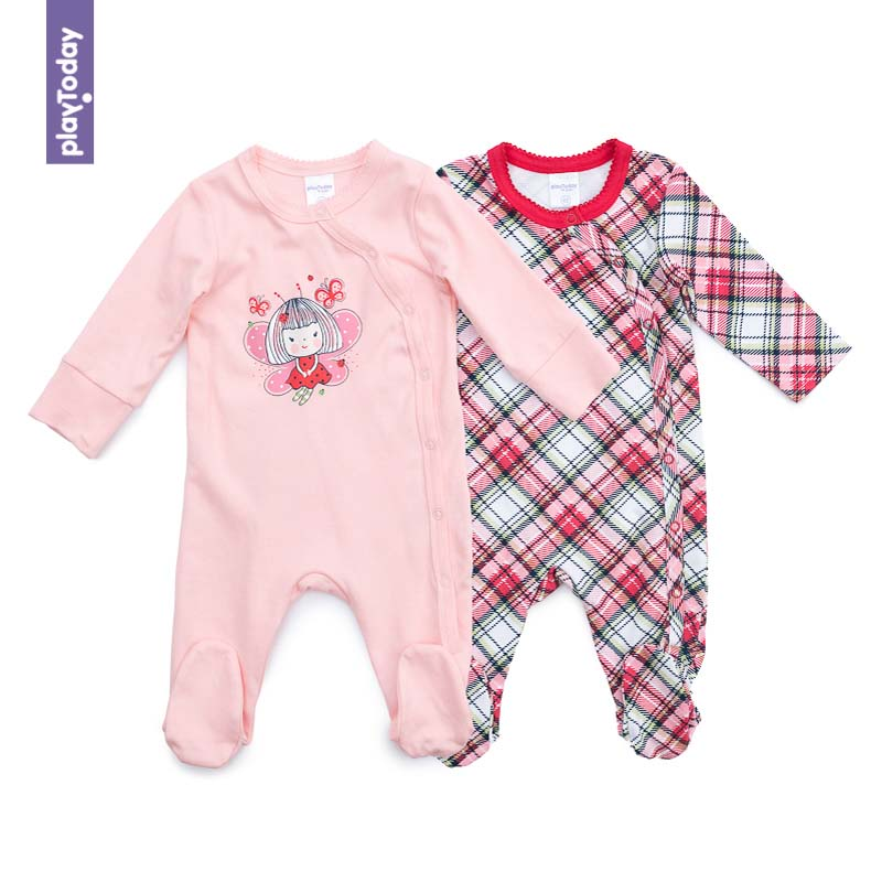 Rompers PLAYTODAY for girls 378808 Children clothes kids clothes платья для девочек