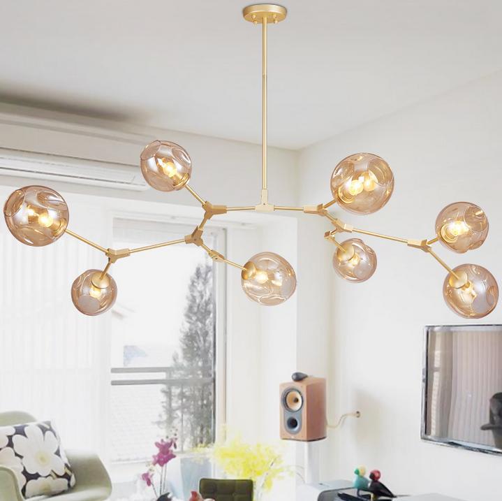 Lindsey Adelman Globe Ramification Bulle Lustre 110 v 220 v Moderne Lustre Lumière Éclairage