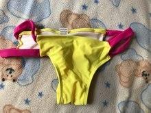 Thong bikini beach girl