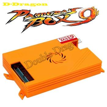 Diy Kit De Gabinete De Arcade | DIY Pandora Box 9 Kit 1500 En 1 PCB Con Estilo Happ Burton Copia Sanwa Joystick Adaptador De Corriente Altavoz Para Gabinete De Arcade Máquina