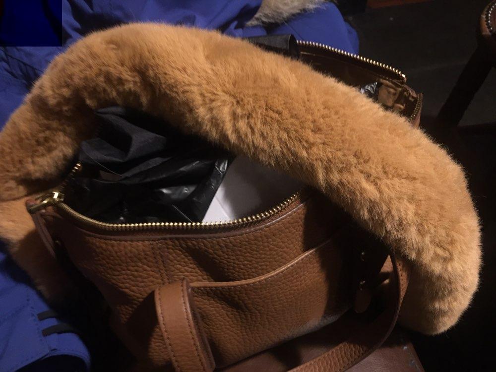 Osmond 120/100/40CM Handbag Strap Fur Bag Straps Handle Replacement Bag Strap For Purse Belts DIY Bag Accessories Gold Buckle photo review