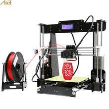 цена на Anet Auto Leveling/Normal A8 A6 E10 E12 3D Printer Precision Reprap Prusa i3 DIY 3D Printer Kit with Filament SD Card 3D Printer