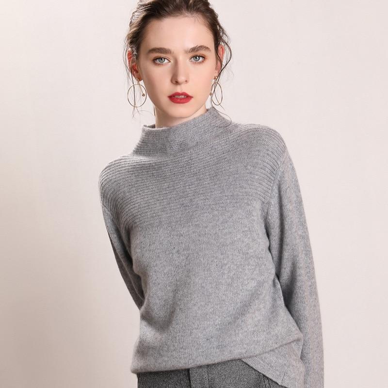 Cachemire Nouvelle Doux Tricoté Fille Picture Chandails Meilleure Tops 100 As Vêtements Mode Couleurs Pur Picture Hiver as Femmes Pulls Qualité 4 PwfYq11g
