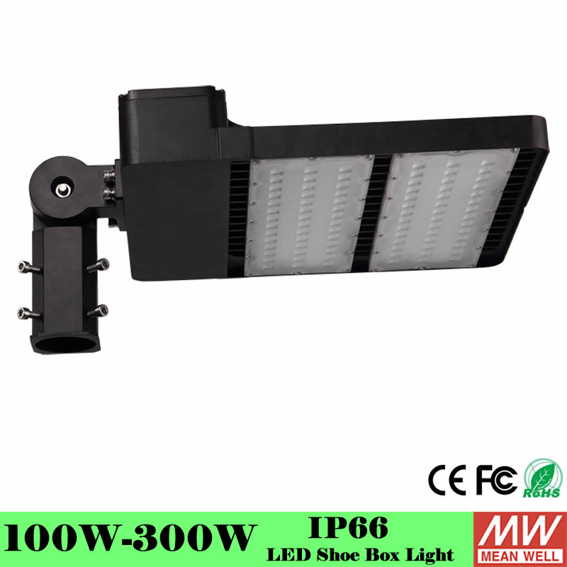 IP65 LED street light 100W 150W 200W 300W LED parking lot light out door led lighting led garden lamp shoe box light|Street Lights| |  - title=