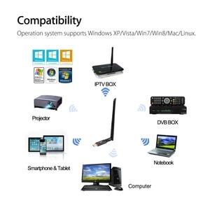 Image 4 - Adaptador de banda dupla usb 3.0 1200mbps, wi fi 5ghz 2.4ghz 802.11ac rtl8812bu antena dongle placa de rede para computador portátil, desktop