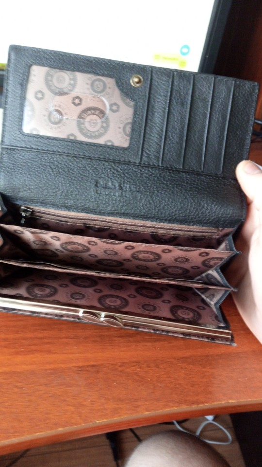 Fashion Brand Women Wallet Genuine Leather High Quality Coin Purse Female Cowhide photo review
