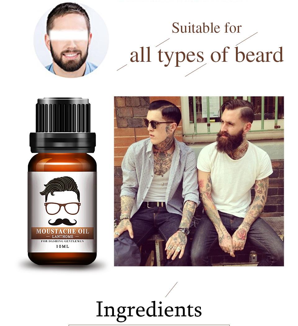9f108b21b0b 2pcs Hair Loss Product New Original Men Beard growth oil mustache grow  serum stimulator 100% natural acceler eyebrow essence